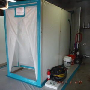 Commercial mold project-three stage decon